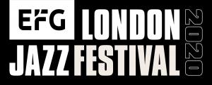 EFG London Jazz Festival Logo in Black & White.